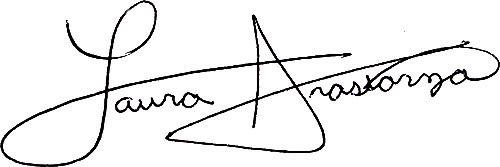 Dr Laura Irastorza Signature